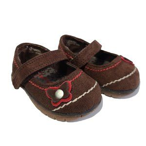 BUM BABIES NWOT Brown Faux Suede Shoes 2
